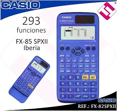 Calculatrice Scientifique Technique Casio Fx-85Spxii Collège Institut Université