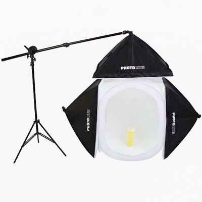 40x40cm Photo Studio Shooting Tent Light Softbox Cube Box Kit + 4 Backdrops NC