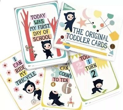 The Original Toddler Cards by Milestones, ages 1-4