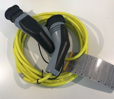 Genuine Volkswagen Golf Up-E Gte Hybrid Electric Charging Cable 12E971675Ab