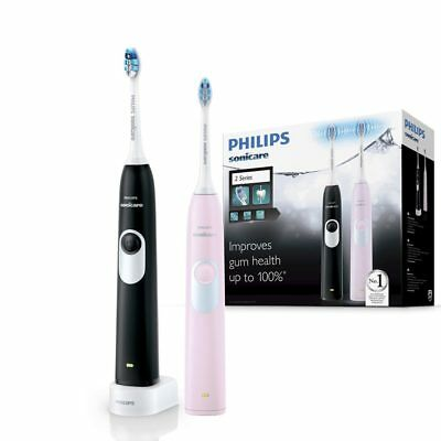 Philips Sonicare 2 Series Rechargeable Electric Toothbrush Charger 2 handle pack