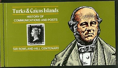 Turks & Caicos Islands  1979  Scott # 398   Mint Never Hinged Booklet
