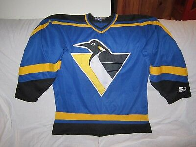 Nhl Pittsburgh Penguins Rare Alternate Starter Ice Hockey Jersey Size Medium