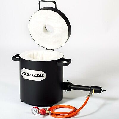 Metal Melting Furnace Gas Propane Foundry Forge FB2Mb –10kg Kiln Burner Torch