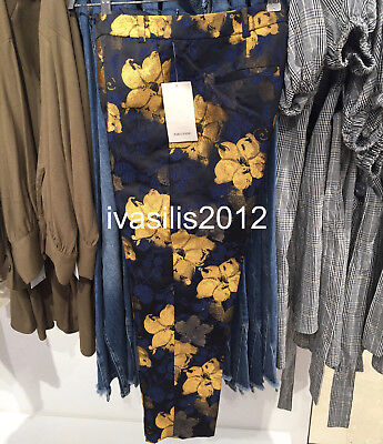 6a7a74a7 ZARA NEW WOMAN Floral Jacquard Trousers Pant Co-Ord Xs-L Ref.2753 ...