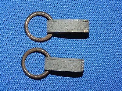 WWII German Dagger Parts, SCABBARD SUSPENSION RINGS