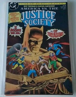 America vs The Justice Society #1-4 NM & Last days of the Justice Society NM