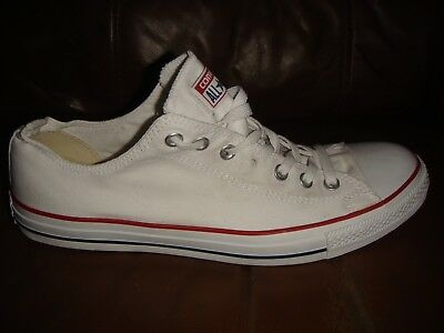 f1b9a15b2c93 Converse Canvas All Star Pumps Trainers - WHITE - Size 12 Adult - Genuine -  T45