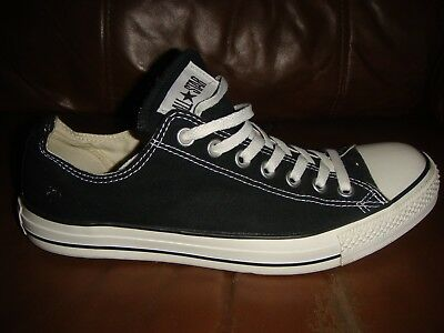 8d53178c384a Converse Canvas All Star Pumps Trainers - BLACK - Size 10 Adult - Genuine -  T48