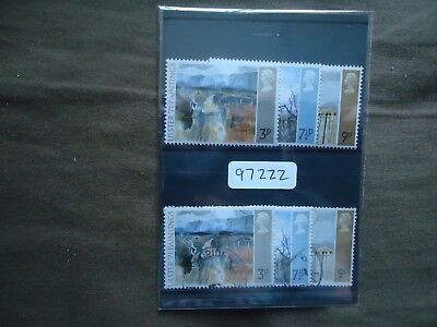 GB 1971 Ulster Paintings (2 Sets) (SG 881-883) MNH & Used (97222)