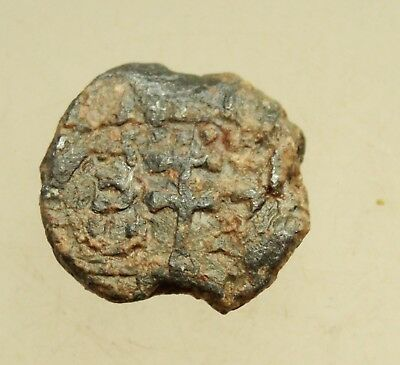 Ancient Byzantine Lead Seal D=21mm 8,5g