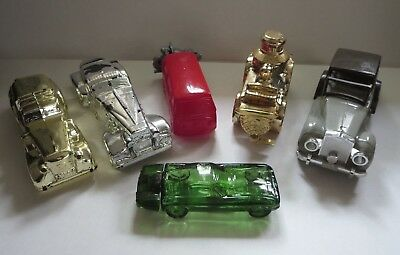 Vintage Avon Car Bottle Lot