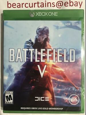 Battlefield V XBox One Standard Edition Brand New Sealed Fast Ship with Tracking
