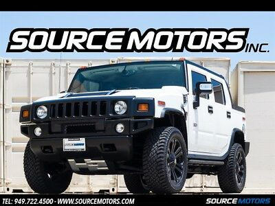 """H2 SUT 2006 Hummer H2 SUT, Leather, Navigation, 4x4, 22"""" XD Wheels, Blacked out"""