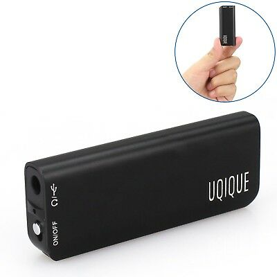 Uqique USB Recorder with Playback for Lectures & Meeting Memos - Voice Activated