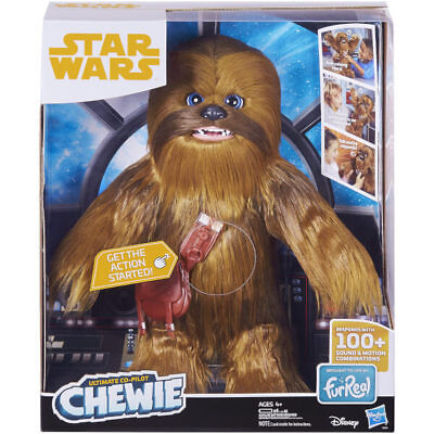 Hasbro Star Wars Ultimate Co-Pilot Chewie Furreal Friends Pet Chewbacca