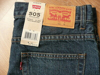 a980bb2fa0 LEVI'S 505 Womens Denim Shorts W29 REGULAR Blue Cotton BRAND NEW WITH TAGS