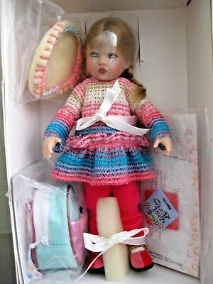 """Precious """"Fiesta Pink Riley"""" W/Backpack by Helen Kish~Nrfb!!  Make an Offer ;))"""