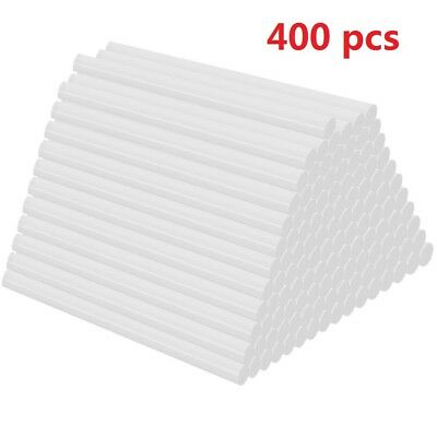 "400 Hot Melt Mini Glue Gun Stick 7mm x 100mm Clear White Wholesale 0.27"" x 4"""