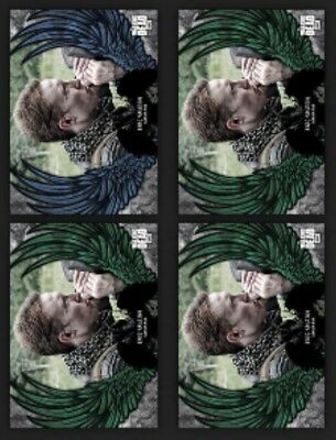 Eric Raleigh-Guardian Angels-Blue+3 Green-Wave 1-Topps Walking Dead Card Trader