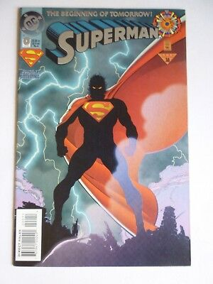 Superman 0 The Beginning Of Tomorrow DC Comics 1994