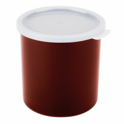 Cambro® CP15416 Round Crock with Lid 1.5 Qt. - 6/Case