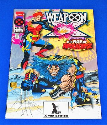 WEAPON X Issue #1 Age of Apocalypse (X-TRA Edit.) [Marvel 1995] VF/NM or Better!