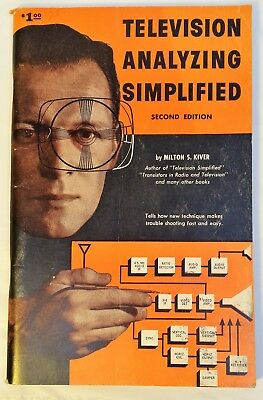 1960 Television Analyzing Simplified 2nd Ed. by Milton S. Kiver PB