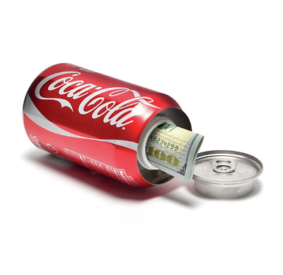 New Stash Can Coca Cola Coke Hidden Diversion HOME SAFE Hide Cash Jewelry Secret