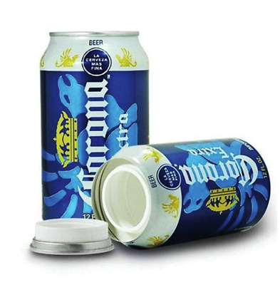 Stash Can Corona Beer Can Hidden Diversion HOME SAFE Hide Cash Jewelry Secret