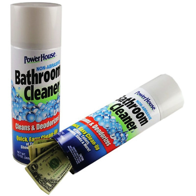 Stash Can Bathroom Cleaner Hidden Diversion HOME SAFE Hide Cash Jewelry Secret