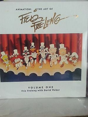 Warner Bros Animation Art Cel The Art Of Friz Freleng Book & Three Sericel