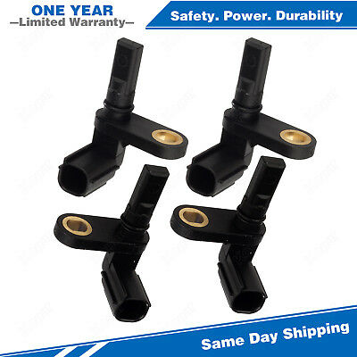 4x ABS Wheel Speed Sensor Front & Rear For 07-17 Toyota Tundra 4.0L 4.6 4.7 5.7L