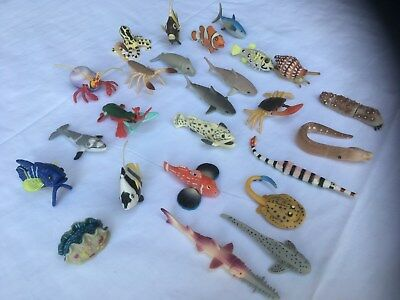 Yowie - Lot of 25 Sea Creatures - No Papers