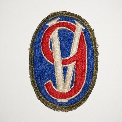 95th Infantry Division OD Border Patch WWII US Army P7717