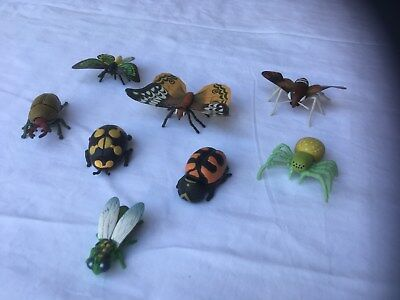 Yowie Lot of 8 Insect Toys - No Papers