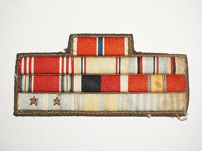 WWII Sew On Embroidered Ribbons US Army Korean War Theater Made P7722