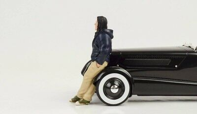 Cool Chris Figurine Figure Street Racing Crew 1:18 American Diorama III No Car