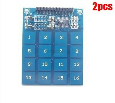 2Pcs TTP229 16-Way Capacitive Touch Switch Digital Touch Sensor Module ym