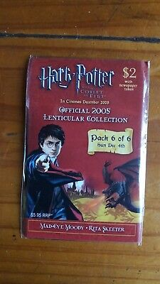 Harry Potter & The Goblet of Fire Lenticular  Trading Card 2005 Pack 6 of 6