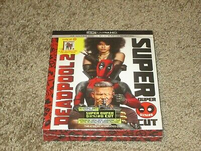 Deadpool 2 Target Exclusive 4k UHD / Blu-ray / Digital with 40 page Book