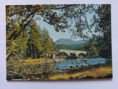 Invercauld Deeside Vintage colour Postcards c1970s The Old Brig O' Dee