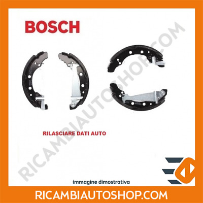 FIAT UNO 146 Brake Shoes Rear 83 to 06 Set Bosch 4162186 5890763 77362423 New