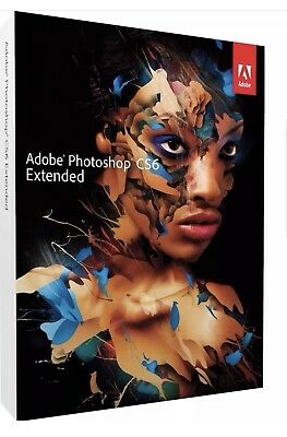 Photoshop Extended CS6 Full Version Simple Extract / WinRar. Digital Download 🔐
