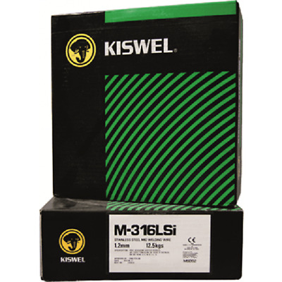 Kiswel STAINLESS STEEL MIG WIRE 0.8mm 5Kg High Silicon Content *Australia Brand