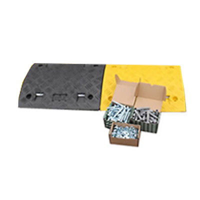 2 Speed Ramp Sections (75mm) - One Yellow, One Black  - includes bolts