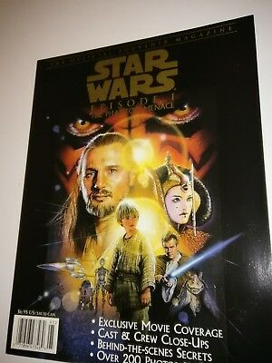 Star Wars The Phantom Menace Official Souvenir Magazine 1999. Mint.