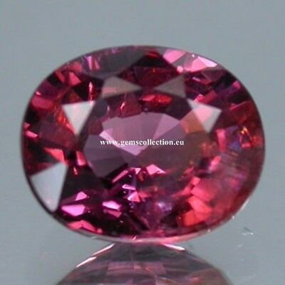 Aaa - Natural Spinel - Spinello Naturale Ct 2.22 Hot Pink Purple Oval Cut M'ogok
