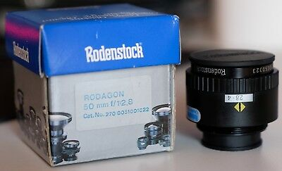Rodenstock Vergrößerungsobjektiv Rodagon 50mm F2.8 high end enlarger lens German