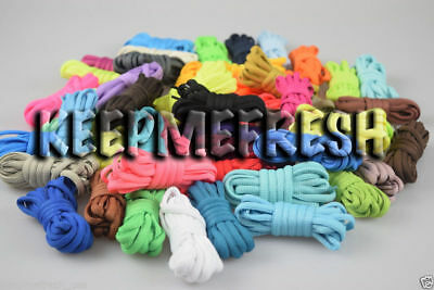 Oval Colorful Replacement Shoelaces 40+ Colors of NEW Laces + BUY 2 GET 1 FREE